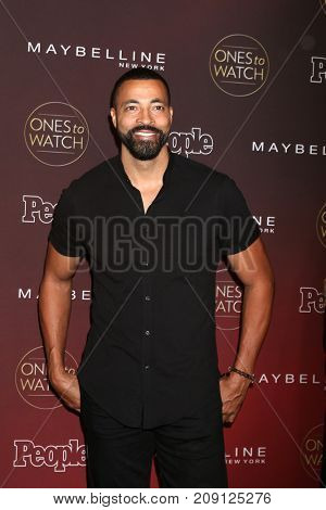 LOS ANGELES - OCT 4:  Timon Kyle Durrett at the People's Ones To Watch Party at the NeueHouse Hollywood on October 4, 2017 in Los Angeles, CA