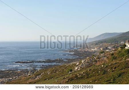 The Atlantic Coast Of Galica Between La Guardia And Oia