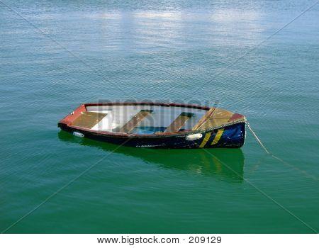 Boat, Half Sunk