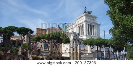 For The City Of Rome In The Country Of Italy