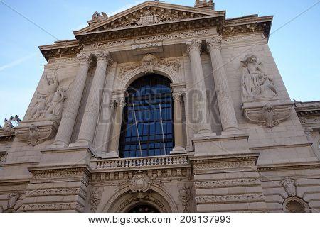 The Building Of The Oceanographic Institute Of Monaco