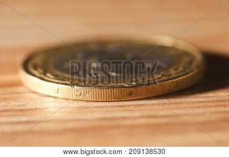 Kazakh money - Tenge . Photos in the studio