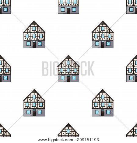 House single icon in cartoon style.House vector symbol stock illustration .
