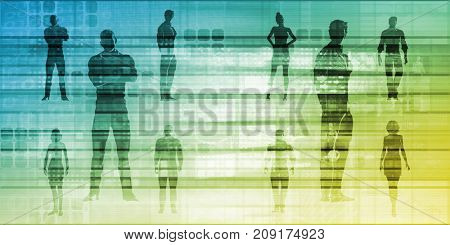 Career Development with a Business Team for Training