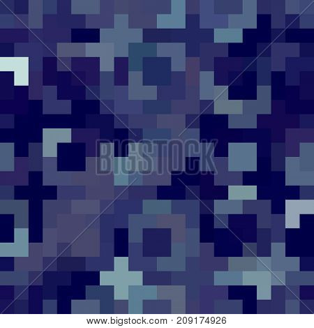 Modern Retro Theme Background with Colorful Squares