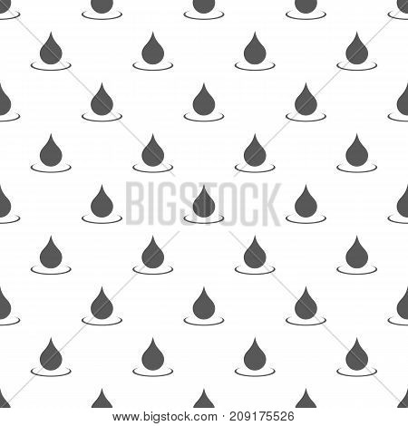 Water drop pattern seamless. Repeat illustration of water drop pattern vector geometric for any web design