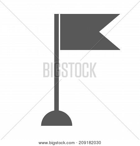 New flag icon vector simple isolated on white background