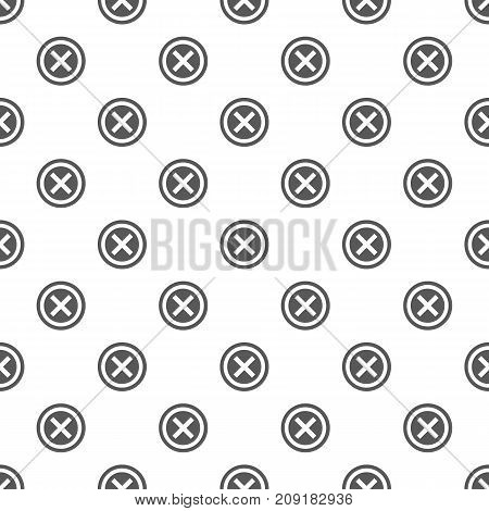 Not pattern seamless. Repeat illustration of not pattern vector geometric for any web design