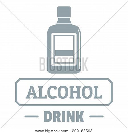 Quality alcohol logo. Simple illustration of quality alcohol vector logo for web