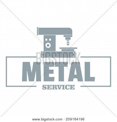 Technician service logo. Vintage illustration of technician service vector logo for web