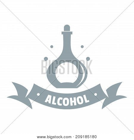 Alcohol logo. Simple illustration of alcohol vector logo for web