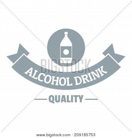 Quality cognac logo. Simple illustration of quality cognac vector logo for web