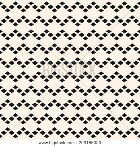 Abstract geometric seamless pattern with rhombuses. Simple vector texture, argyle pattern. Modern monochrome geometrical background, repeat tiles. Design pattern. Decor pattern. Textile pattern. Fabric pattern. Cloth pattern. Covers pattern.