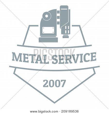Mechanic service logo. Vintage illustration of mechanic service vector logo for web