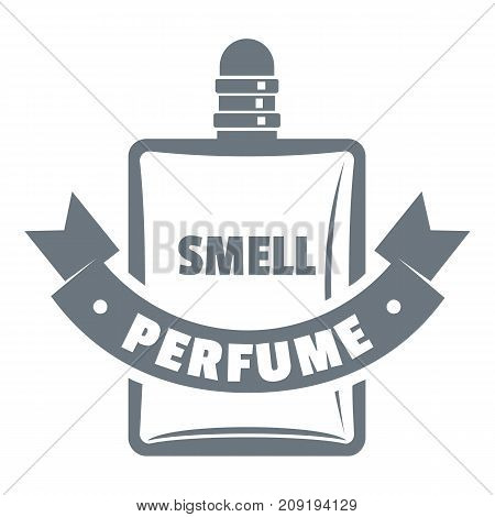 Smell perfume logo. Vintage illustration of smell perfume vector logo for web