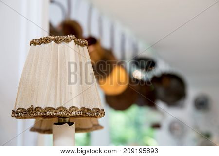 lamp decorative in home - Luxury lighting.