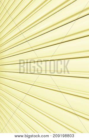 Texture of shutter door or roller door for background.