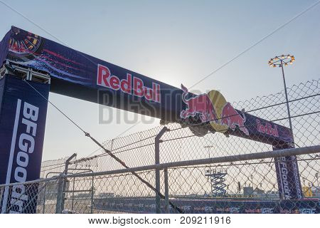 Race Circuit During The Red Bull Grc