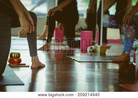 Yoga Practice Exercise Class