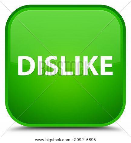 Dislike Special Green Square Button