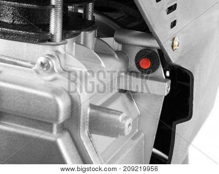 Air Compressor on white background - thermal compressor fuse