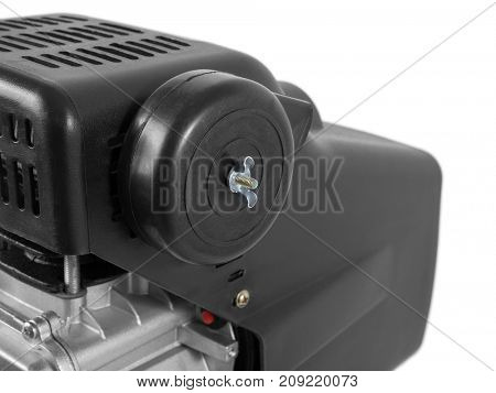 Air Compressor on white background - air compressor filter