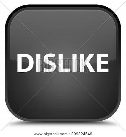 Dislike Special Black Square Button