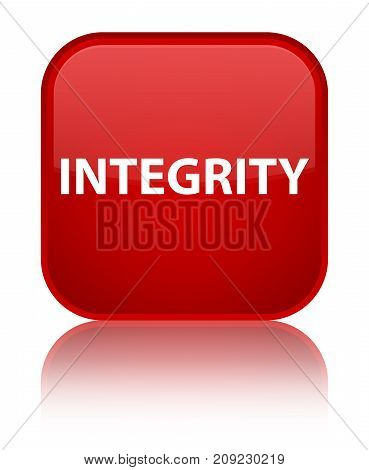 Integrity Special Red Square Button