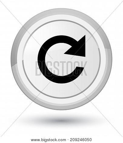 Reply Rotate Icon Prime White Round Button