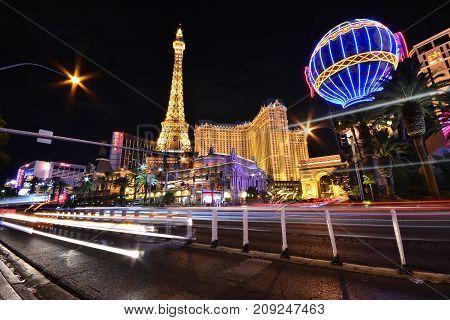 Paris Resort Casino And Hotels In Las Vegas.