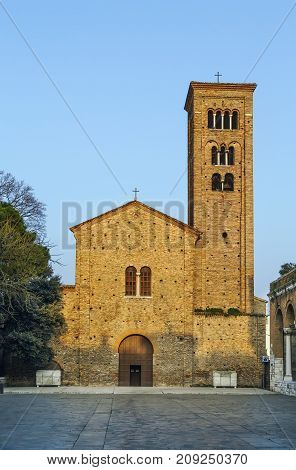 The St. Francis basilica rebuilt in the 10th - 11th centuries over a precedent edifice dedicated to the Apostles.