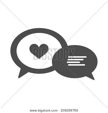 Hand drawn speech bubbles with popular message words vector collection. Label for dialog chat illustration EPS10