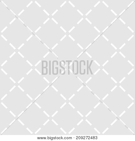 Tile grey and white vector pattern or seamless decoration wallpaper