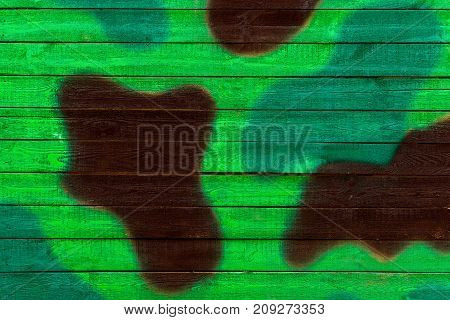 Texture of a wooden wall or a military khaki box