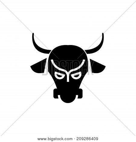 bull market - stock market - bullish icon, illustration, vector sign on isolated background