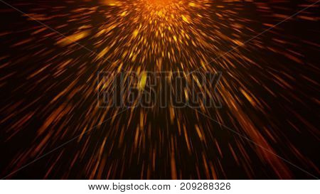 Abstract Background With Light Streaks And Lines