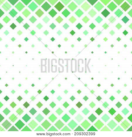 Green square pattern background - geometrical vector illustration from diagonal squares
