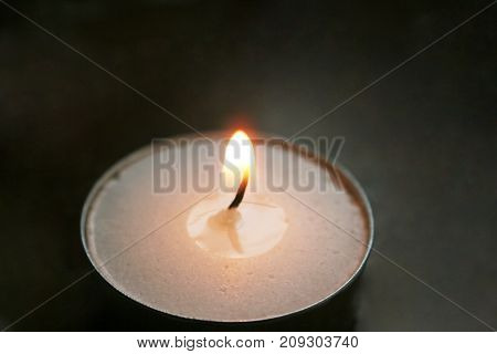 Candle Close Up High Quality Stock Photo