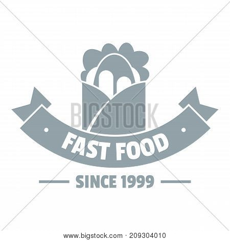 Hot fast food logo. Simple illustration of hot fast food vector logo for web