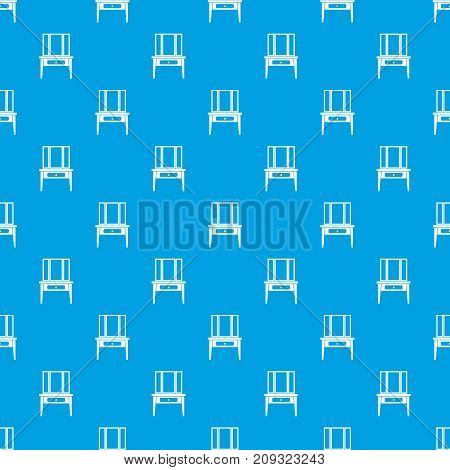 Dressing console, pier-glass in simple style isolated on white background vector illustration