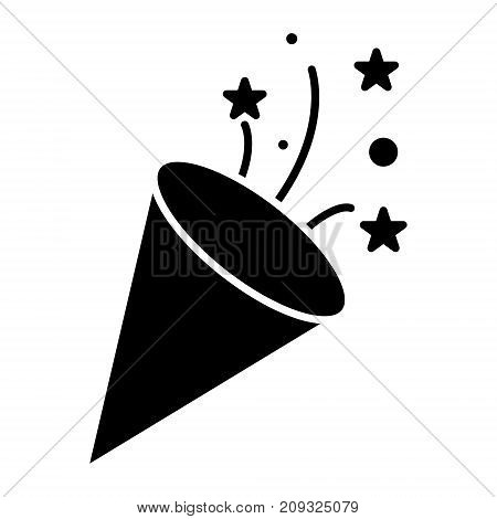 flapper - petard icon, illustration, vector sign on isolated background