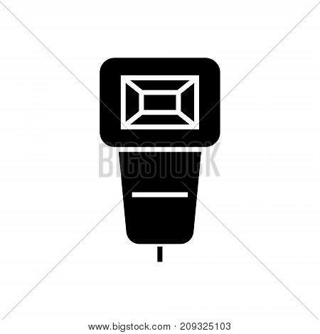 flash photo icon, illustration, vector sign on isolated background