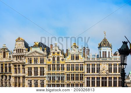 Royal Palace of Brussels - landmark of Brussels, Belgium