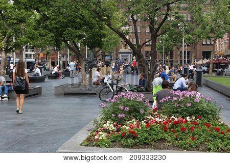 Amsterdam Rembrandt Square