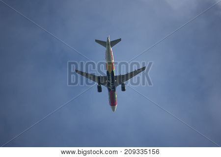 9M-afd Airbus A320-200 Of Airasia.