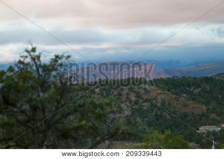 The La Plata mountains in Durango, Colorado