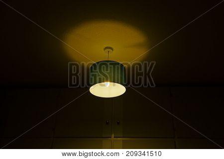 Ineffective Electric Light in a Dark Bedroom