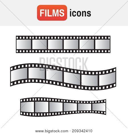 Film Roll. Film 35Mm, Slide Film Frame Set