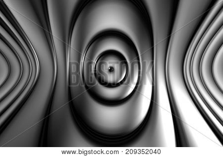 Silver metal abstract luxury background