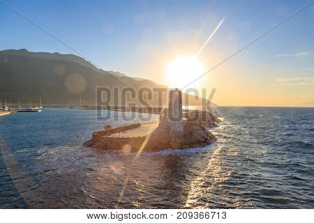 Datca kairos Marina for Datca-Bodrum ferryboat near karakoy